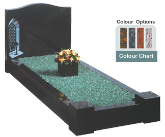 memorial-stones-Granite-Traditional-Kerb-Memorial-GK_2