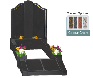 memorial-stones-Granite-Traditional-Kerb-Memorial-GK_33