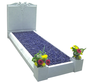 memorial-stones-Marble-Traditional-Kerb-Memorial-MK-3