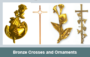 Bronze-Crosses-Ornaments