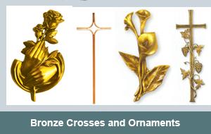 Bronze-Crosses-Ornaments